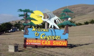 Welcome to Cayucos metal signs